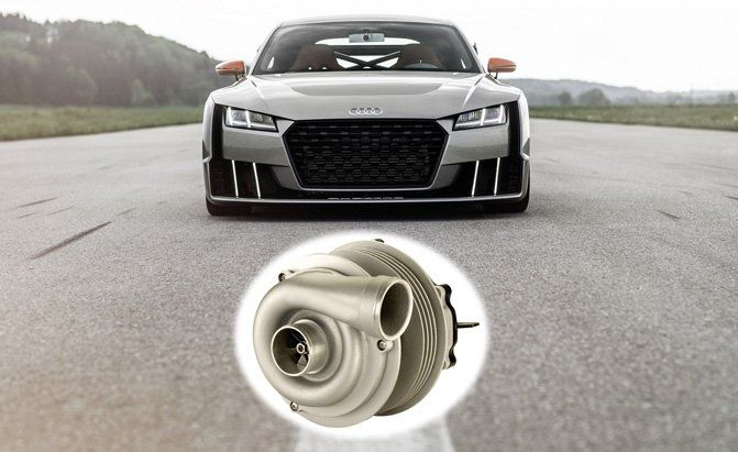 Electric TurboCharger audi
