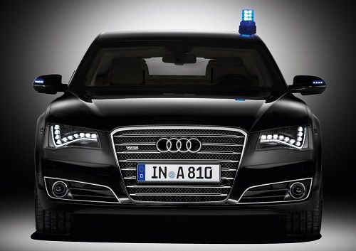 The Armored Luxury Car Audi A8 L Security 3