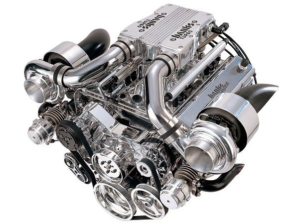 turbochargers banks twin turbo engine